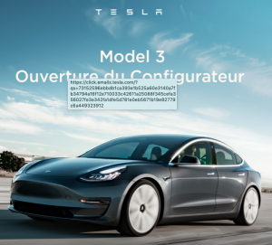 Configure your new Tesla